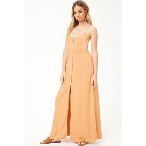 Forever21 - Button Front Maxi Dress - Size S